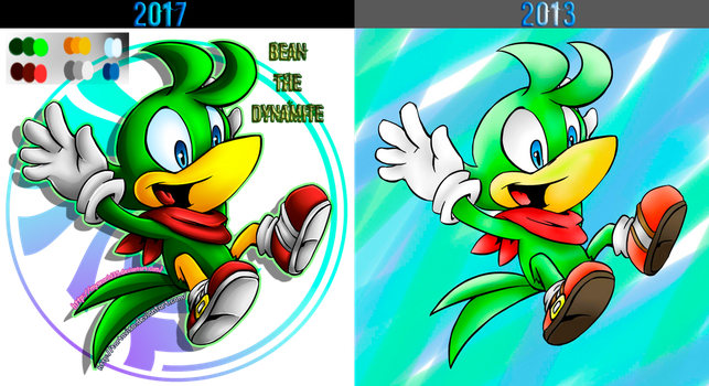 Bean the dynamite comparations by MyWorld35