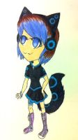Techno Neko Offer to adopt! :OPEN: by Angrykarkat25