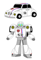 Herbie as a Transformer by Gamekirby