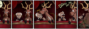 Stantler and Waldorf by QuadForceFive