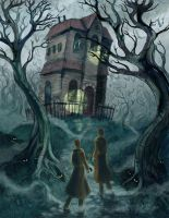 Haunted House by shadowgirl