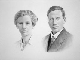 Alice and Joseph Gatley by mickoc