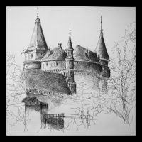 bojnice castle by keryneja