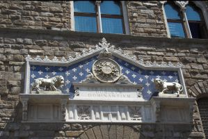 Florence town hall sign by enframed