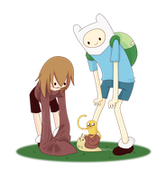 -: Little Adventure Time! :- by ReSuKu