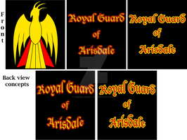 Royal Guard back of shirt concepts by Gneiss-chert