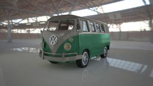 Volkswagen Bus by BSquare