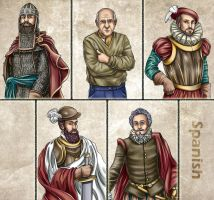Historia DA collection - Spanish by Lythilien