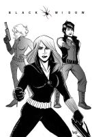 Code Name Black Widows by bunnyluz