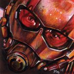 Ant-Man Post-It note sketch by RobD4E