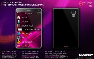 Zune Phone by xazac87