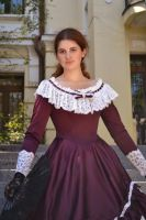 Dress of the 19th century by Korff