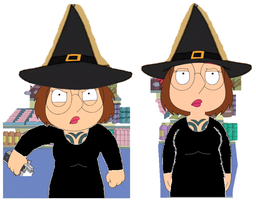 Meg as The Wicked Witch of The West by stumanbud