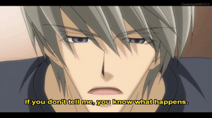 Junjou Romantica Gif - Akihiko Reads His BL Novel by Deathday94991313