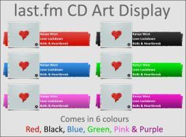 last.fm for CD Art Display by parry