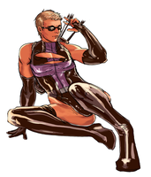 Hawkeye knows how to work it by daitoshi