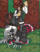 TRADITIONAL: Round Up: Hangman vs Nightmare Ally by InvaderIka