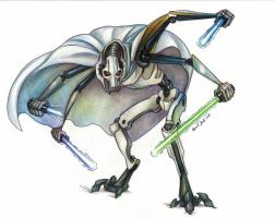 General Grievous by kykywka