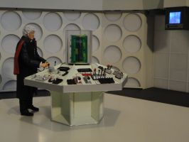 The Third Doctor TARDIS Console Model by TonyStarkHarrison
