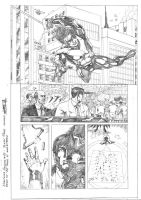 Nightwing Origins Tryout 01 by JeanSinclairArts