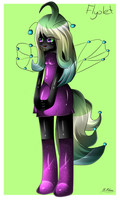 Collab: Flyolet by SapphireShine