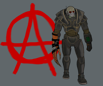Fallout New Vegas - Courier by Drakorius-Arcanum