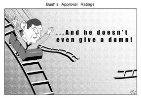 the problem with Bush by Lombax2007