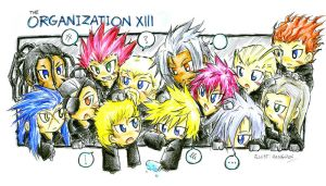 The Organization XIII by hangdok