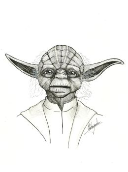 May the force be with you! -  Yoda by Zumbi777
