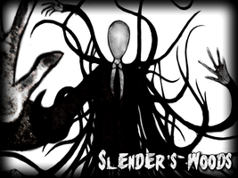 Slender's Woods - Indie Game by SpyrotheFox