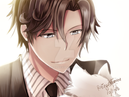 Mystic Messenger: Cat Lover by rairy
