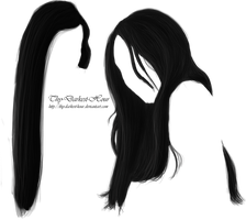 Hair PNG 16 by Thy-Darkest-Hour
