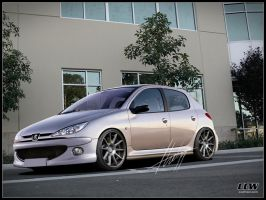Peugeot 206 by thehppBG