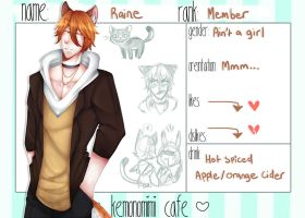 Kemonomimi-Cafe: Raine by Pinepuruu