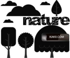 PS brushes: Nature by kakiii