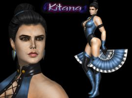 KITANA MORTAL KOMBAT GOLD by SrATiToO