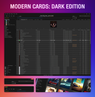 Modern Cards: Dark Edition [Update: 2016-01-26] by Dirhael