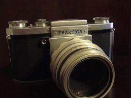 Vintage Camera Practika 2 by versaillesjewels