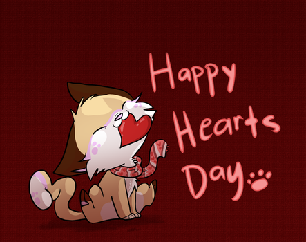 Happy Hearts Day by DoddleFur