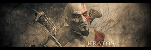 GoW III Kratos Signature by CREEPnCRAWL