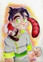 Bolin and Pabu by Anamaris