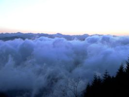 Above the clouds by Strige