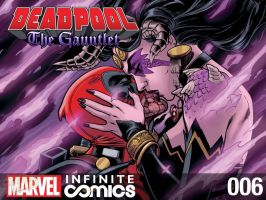 Deadpool: The Gauntlet 6 by ReillyBrown