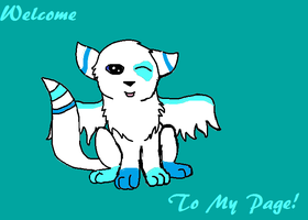 Welcome to my Page!(Icegem, my main OC) by Warriors1333