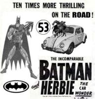 Batman and Herbie 0001 by LittleBigDave