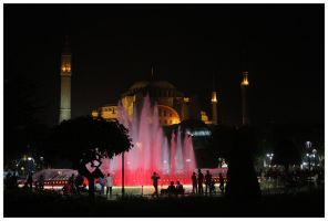 Istanbul at night by DysfunctionalKid