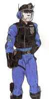 Cyburg Beatcop by Crash2014