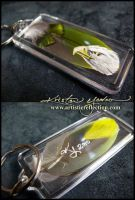 Feather Painting Keychain 16 by dittin03