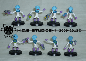 Crypto Miniatures COMPLETED by BlackHoleInAJar