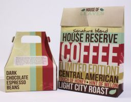 House of Leaves Package Design by Skye-M-Creative